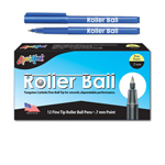 12 ct Roller Ball™, Fine Point Pen - Blue