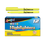 12 ct Brite Spots® Pocket Highlighters - Yellow