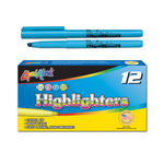 12 ct Brite Spots® Pocket Highlighters - Light Blue