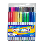 24 ct Super Tip Washable Markers - Assorted