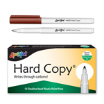 12 ct Hard Copy Markers - Brown
