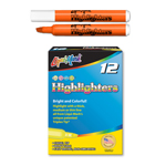 12 ct Broadline Highlighters - Orange