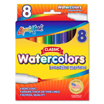 8 ct Broadline Watercolor Markers - Assorted