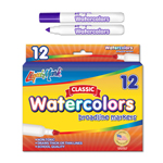 12 ct Broadline, Conical Tip Watercolor Markers - Purple