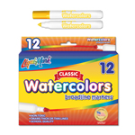12 ct Broadline, Conical Tip Watercolor Markers - Yellow