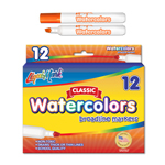 12 ct Broadline, Chisel Tip Watercolor Markers - Orange