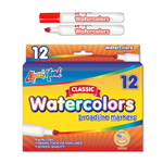 12 ct Broadline, Chisel Tip Watercolor Markers - Red